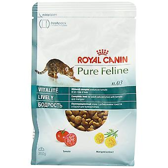 Royal Canin Cat Food Pure katachtige levendige droge Mix 300 g