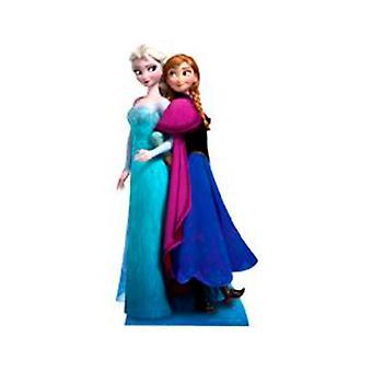 Anna & Elsa aus gefrorenen Karton Ausschnitt