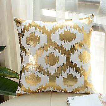 Cushion cover in gold!