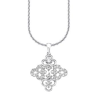 s.Oliver драгоценность дамы ожерелье Zyrkonia цветы SO1230/1 - 9081806