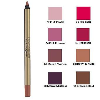 2 x Max Factor Colour Elixir Lip Liner - Choose From 8 Shades