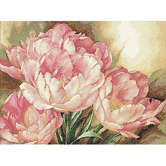 Gold Collection Tulip Trio Counted Cross Stitch Kit-16