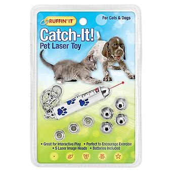 Catch-It! Pet Laser Toy For Dogs And Cats-