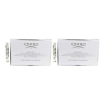 Creed Pure White Cologne Splash 2.5ml vail On A Card (Pack Of 2)