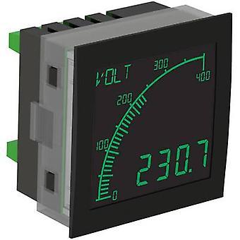 デジタル ラック マウント メーター Trumeter APM-ボルト-アン