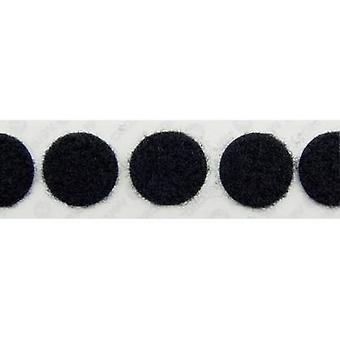 VELCRO® E20102233011425 Hook-and-loop stick-on stick-on Hook pad (z) 22 mm Nero 1000 pc(s)