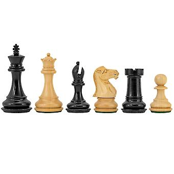 Highclere Series Ebony Staunton Chess Pieces 3 Inches