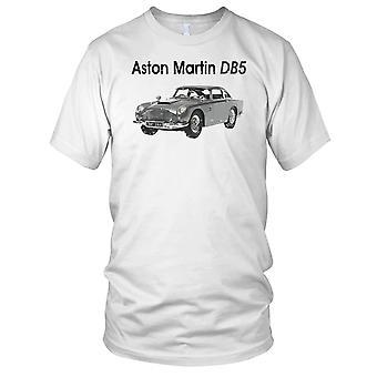 Aston Martin DB5 klassiske bilen damer T skjorte
