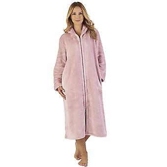 Slenderella HC2345 Women's Luxury Fleece Robe Loungewear Bath Dressing Gown