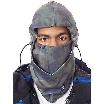 Volcom Camouflage Travelin Ding Snowboard Facemask Haube