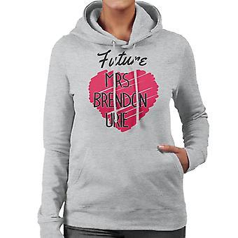 Future Mrs Brendon Urie Women's Hooded Sweatshirt