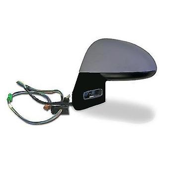 Left Mirror (electric heated chrome glass) for Citroen C4 Coupe 2004-2010