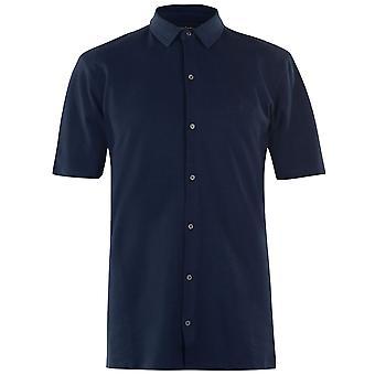 Pierre Cardin Herren Button-Down-Polo-Shirt Classic Fit Top Kurzarm T-Shirt