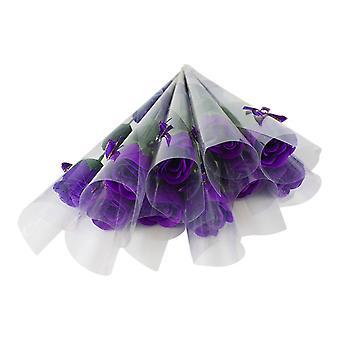Rosas perfumada-roxo