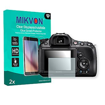 Sony SLT-A58Y Alpha Screen Protector - Mikvon Clear (Retail Package with accessories)