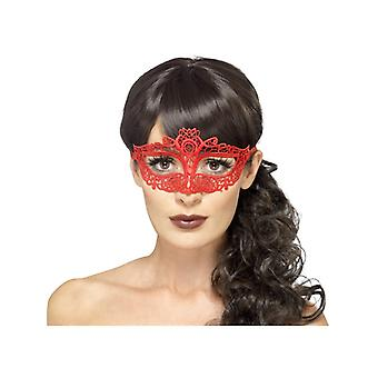 Pizzo ricamato filigrana Eyemask