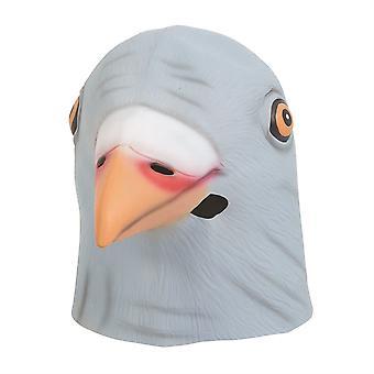 Paloma de la máscara de látex