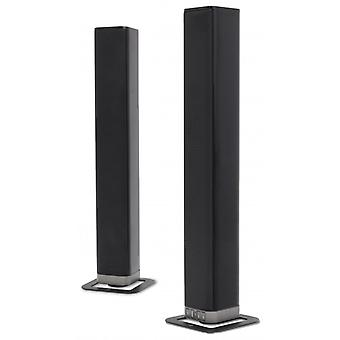 DUTCH ORIGINALS sound bar | Bluetooth speaker - Tower Speaker - home theater system | With remote control, mounting bracket, cables | BT 4.2 HDMI, AUX, optical, 50-W, 32-inch | For TV, PC, cell phone (black)