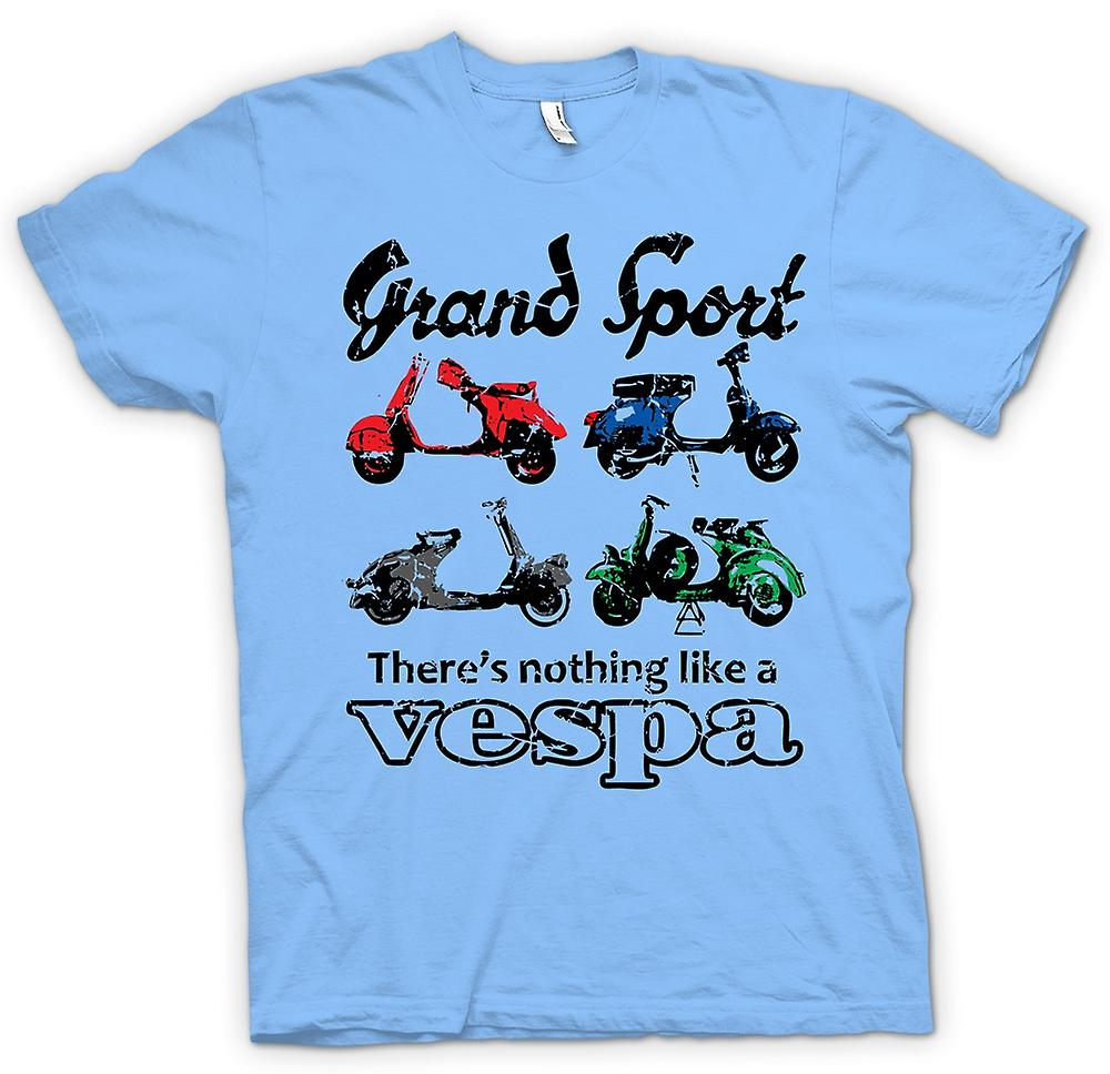 Heren T-shirt - Vespa Grand Sport - popart