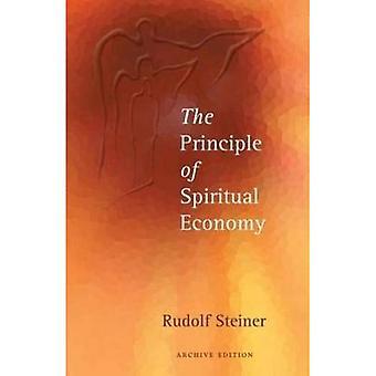 Le principe d'une économie spirituelle
