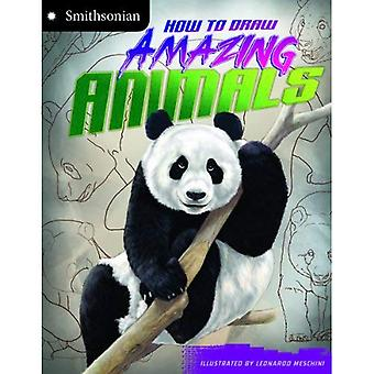 How to Draw Amazing Animals (Smithsonian Drawing Books)