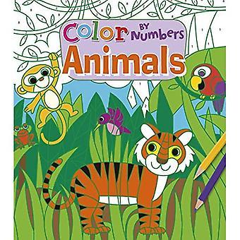 Färg nummer djur