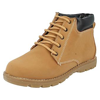 Boys JCDees Ankle Boots N2006 Tan Size 10