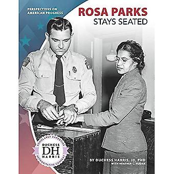 Rosa Parks förblir sittande (perspektiv på American Progress)