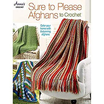 Sure to Please Afghans to Crochet: Color Your Home with 8 Stunning Afghans
