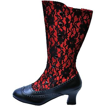 Boot Spooky Red Size 9