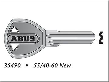 ABUS 55/40-60 New Key Blank (Kd Only) 35490