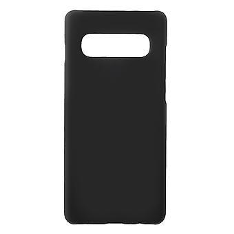 Samsung Galaxy S10 + cáscara de plástico duro-negro