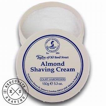 Taylor of Old Bond Street Almond Shaving Cream (150g)