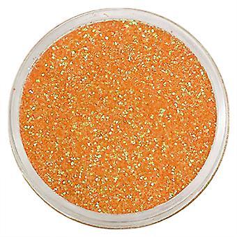 1pc Fine glitter oranje