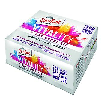 SlimFast Vitality 7 Day Boost Kit Weight Loss Aid