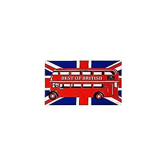 Union Jack use toalla de té de autobús de Londres