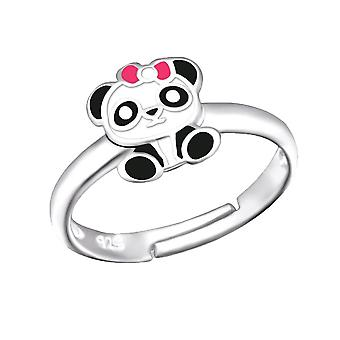 Anello di Panda in argento Sterling per bambini
