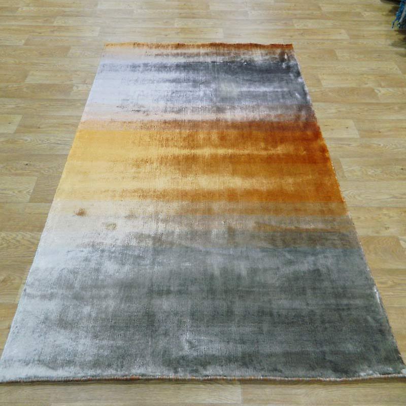 Rugs - Linie Grace - Orange & Silver