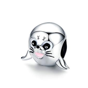 Sterling silver charm Sea lion