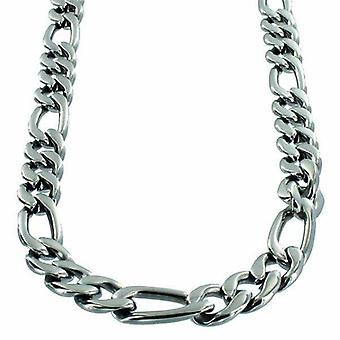 Necklace Stainless Steel Figaro link 9mm