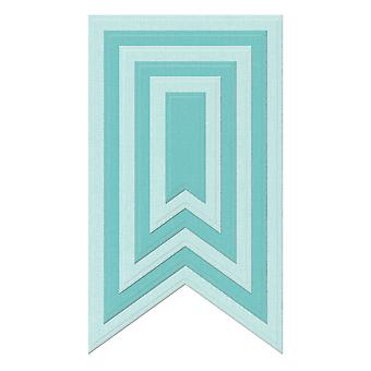 Lifestyle Nesting Dies 6 Pkg Party Banners, .6