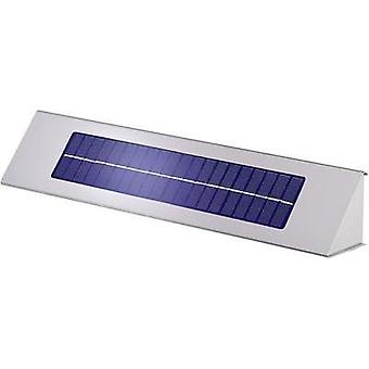 Solar outdoor wall light Cold white Esotec 102258 Profi 2 Stainless steel