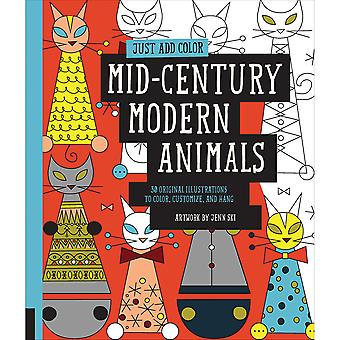 Rockport Books-Mid Century Modern Animals RKP-39482