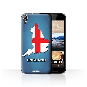 STUFF4 Case/Cover for HTC Desire 830/England/English/Flag Nations