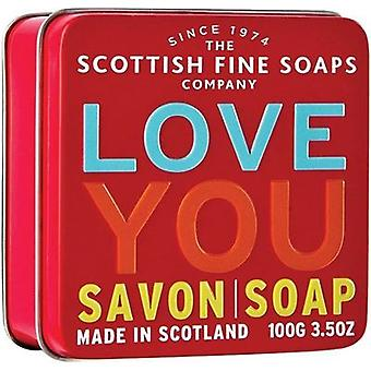 Scottish Fine Soaps Liebe Sie Seife Tin