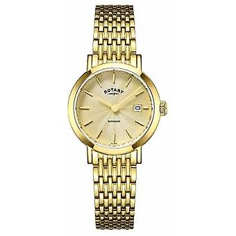 Rotary Ladies Timepieces Windsor Gold Plated LB05303/03 Watch