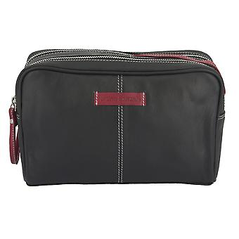 Bruno banani washbag toiletry bag sacchetto cosmetico nero 2760