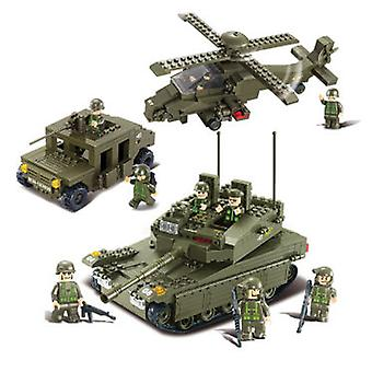 Sluban Lf 683 Amphibious Army Onrush Parts