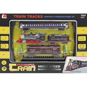 Dimasa Train With 3 Wagons (Kids , Toys , Vehicles , Tracks And Circuits)
