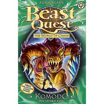 Komodo the Lizard King by Adam Blade